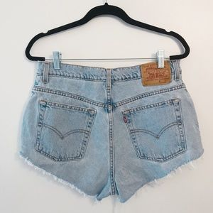 Vintage Levi's Curt Off Shorts